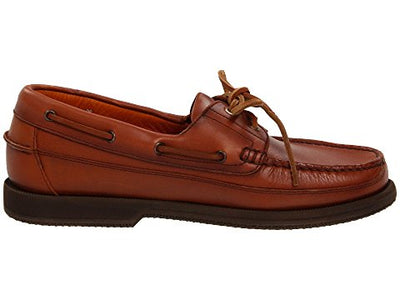 Men's Boat Shoes HURRIKAN By Mephisto - Brandy`s shoes