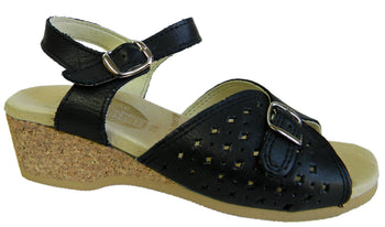 Women's Worishofer 811 Ankle Strap Sandal - Brandy`s shoes