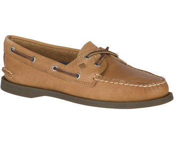 Sperry Women's Authentic Original Leather Boat Shoe (Wide) - Brandy`s shoes