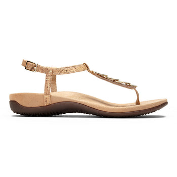 Women's Vionic Sandal with Orthaheel Miami - Brandy`s shoes