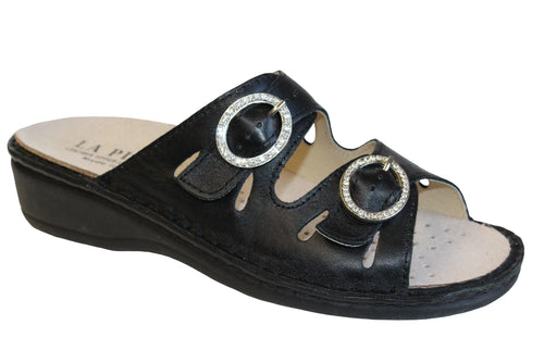 Women's Amalfi La Plume Leather Sandal