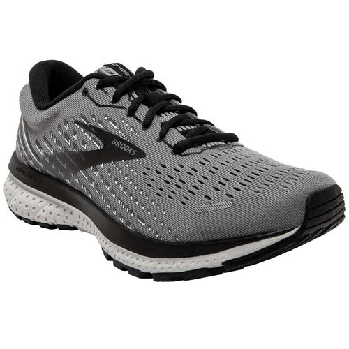 BROOKS GHOST GREY/PRL/BLACK RUNNING SHOE