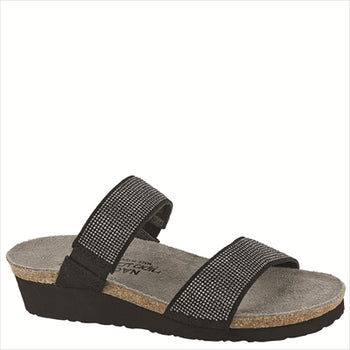 Women's Naot, Bianca Slide Sandal - Brandy`s shoes