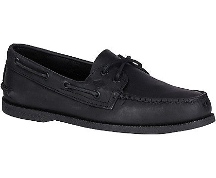 Men's Authentic Original Black -Eye Boat Shoe