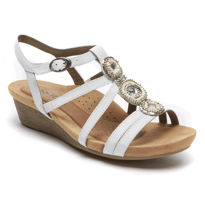 Cobb Hill Hannah T-Strap Sandal by Rock port