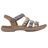 Cobb Hill Rubey T Strap Sandal by Rockport - Brandy`s shoes