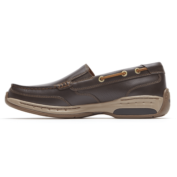 Men's Waterford Slip on by Dunham - Brandy`s shoes