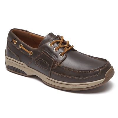 Men's Captain LTD Boat Shoe by Dunham - Brandy`s shoes