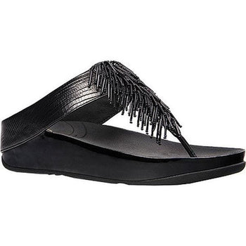 FIT FLOP CHA CHA BLACK WOMEN'S SANDAL