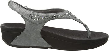 FIT FLOP NOVY SANDAL PEWTER