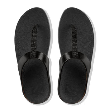 Women Sandal FINO™ Crystal Toe-Thong Sandal BY FitFlop - Brandy`s shoes