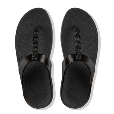 Women Sandal FINO™ Crystal Toe-Thong Sandal BY FitFlop
