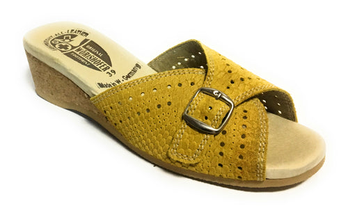 Worishofer Women's 251 Flat Sandals - Brandy`s shoes