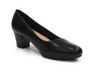 Women's Pierre Dumas Karin-1 Mid-Heel Working Pump - Brandy`s shoes