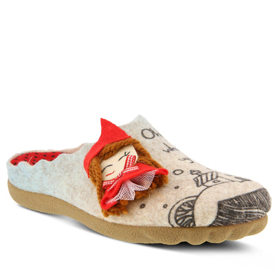 Women's FLEXUS LILRED SLIPPER