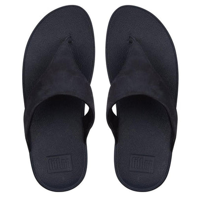 Women Sandal  LULU™ Toe-Thongs (Shimmer-Check) Leather BY FitFlop