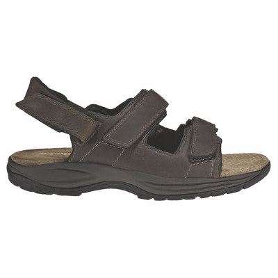 Men's ST JOHNSBURY SANDAL by Dunham - Brandy`s shoes