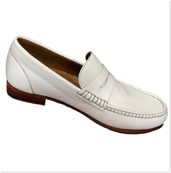 Florsheim Beaufort White - Brandy`s shoes