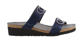 Women's Naot, Ainsley Slide Sandals - Brandy`s shoes