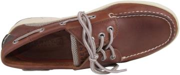 Men's Billfish 3-Eye Boat Shoe Dark Tan