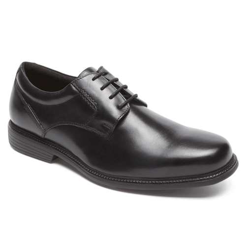 Charles Road Plain Toe Oxford by Rockport - Brandy`s shoes
