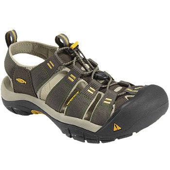 Men's Keen Newport H2 Raven/Aluminum Athletic Sandal