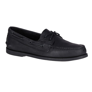 Men's Sperry Top-Sider A/O Black Boat Shoes