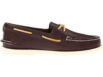 Men's Sperry Top-Sider A/O Brown Boat Shoes