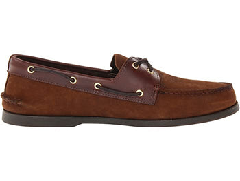 Men's Sperry Top-Sider A/O Brown Buck Boat Shoes