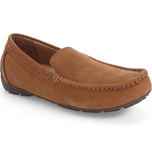 Men's Tempur-Pedic Brantford Tan Nubuck Driving Shoes