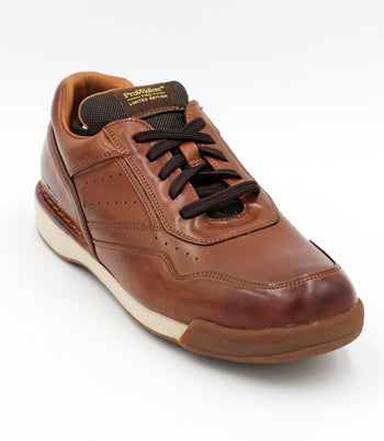 Men's Rockport 7100 ProWalker Brown Burnished Sneaker
