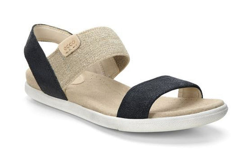 Women's Ecco Damara Black Sandal