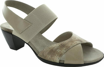 Women's Munro Darling Taupe Metallic  Sandal