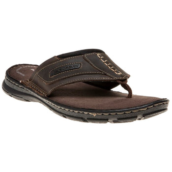 Men's Rockport Darwyn Brown Flip-Flops