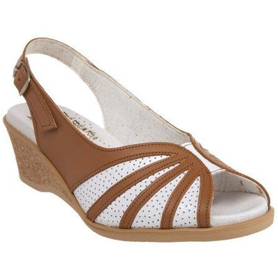 Worishofer Women's 881 Flat Sandals - Brandy`s shoes