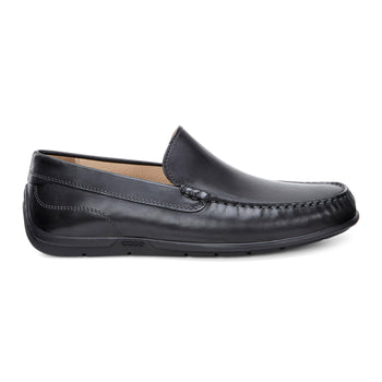 Men's Ecco Classic Moc 2.0 Black  Slip-On Shoes