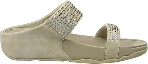 Women's FitFlop Flare Pebble Slide Sandals