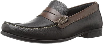 Men's Florsheim Franklin Black/Brown Slip-On