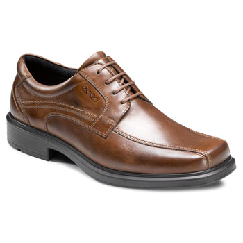 Men's Ecco Helsinki Cocoa Bike Toe Dress Shoes