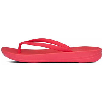 Women's FitFlop Iquishion Ergonomic Red Flip-Flops