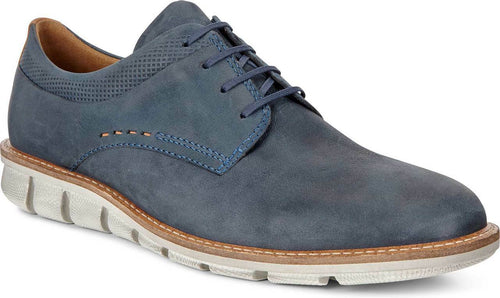 Men's Ecco Jeremy Navy Plain Toe Derby