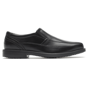 Men's Rockport Leader 2 Black Bike Toe Slip-On