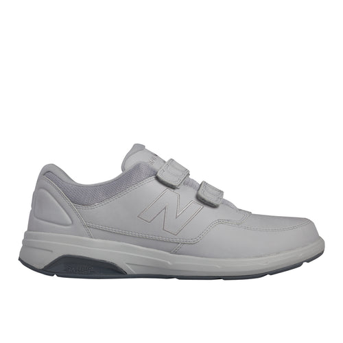 Men's MW813HGY New Balance Hook and Loop Walking Sneaker