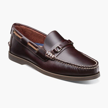 Men's Florsheim Nevis Bit Burgundy Loafers