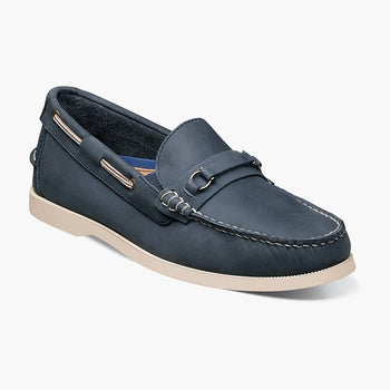 Men's Florsheim Nevis Bit Navy Loafers