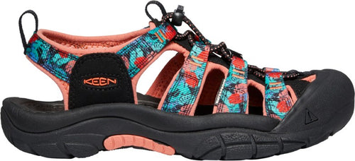 Women's Keen Newport H2 Black Multi Sandal