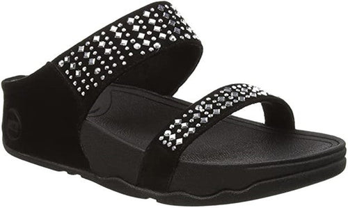 Women's Fitflop Novy Black Slide Sandal