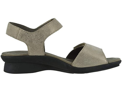 Women's Mephisto Pattie Dark Taupe Sandal