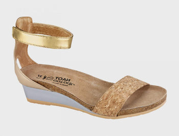 Women's Naot Pixie Champagne Gold Sandals