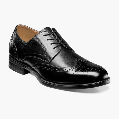 Men's Florsheim Midtown Wing Tip Black